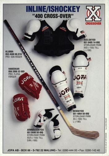 Inline street hockey Jofa 96 Blad06