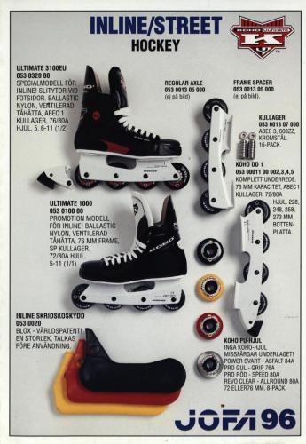 Inline street hockey Jofa 96 Blad07