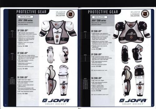 JOFA smart 2001 ice hockey eqipm 10