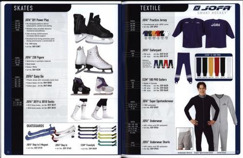 JOFA smart 2001 ice hockey eqipm 14