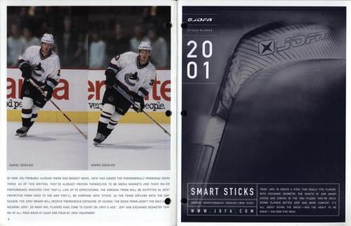 JOFA smart hockey 2001 equipment guide 03