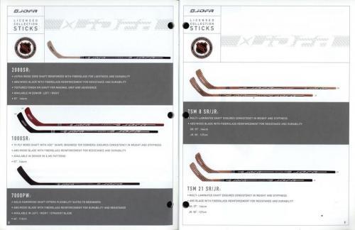 JOFA smart hockey 2001 equipment guide 05