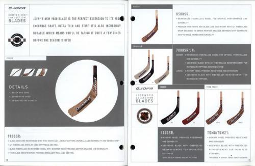 JOFA smart hockey 2001 equipment guide 06