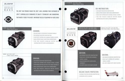 JOFA smart hockey 2001 equipment guide 17