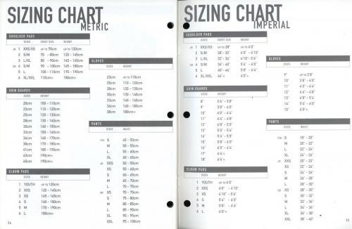 JOFA smart hockey 2001 equipment guide 18