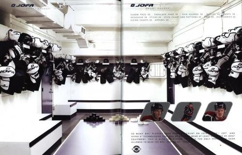 JOFA smart hockey 2004 equipm 02