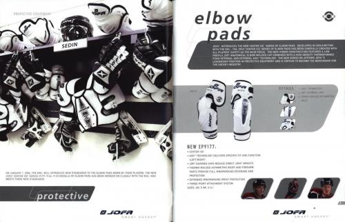 JOFA smart hockey 2004 equipm 03
