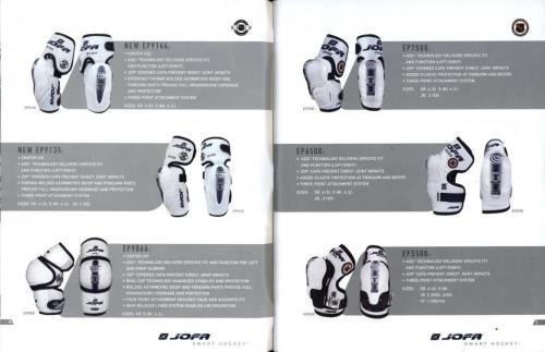 JOFA smart hockey 2004 equipm 04