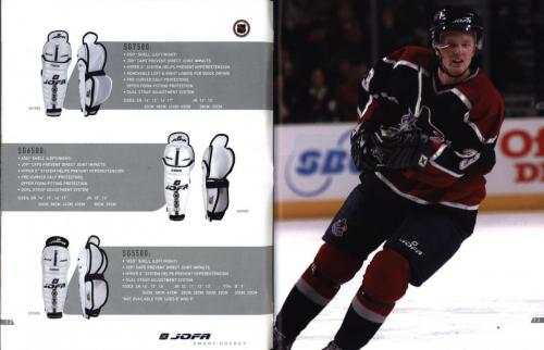 JOFA smart hockey 2004 equipm 08
