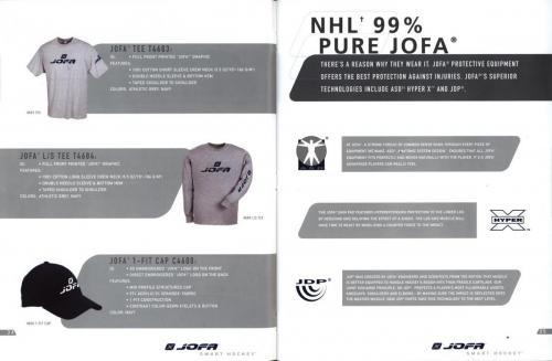 JOFA smart hockey 2004 equipm 19