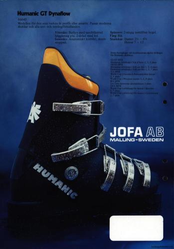 Jofa Humanic 05