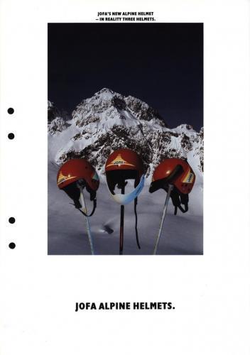 Jofa alpine helmets 01