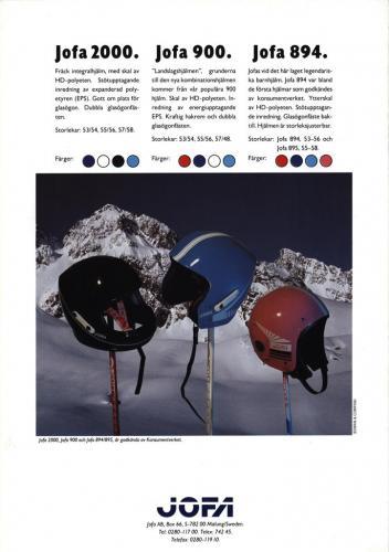 Jofa alpinhjälmar 03