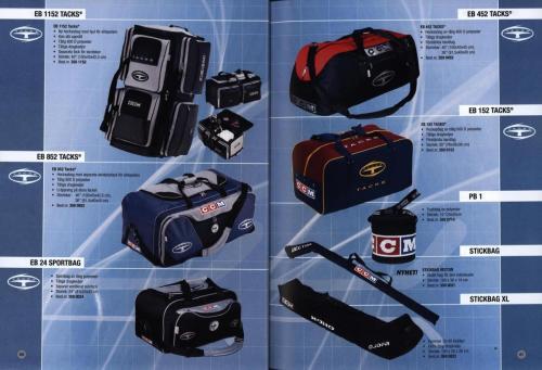 Jofa ccm hockeyutrustning 2003 Blad21