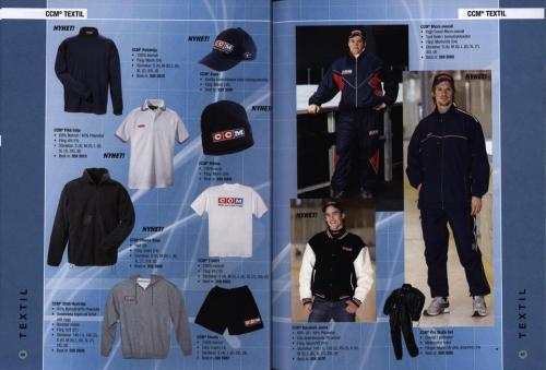 Jofa ccm hockeyutrustning 2003 Blad24