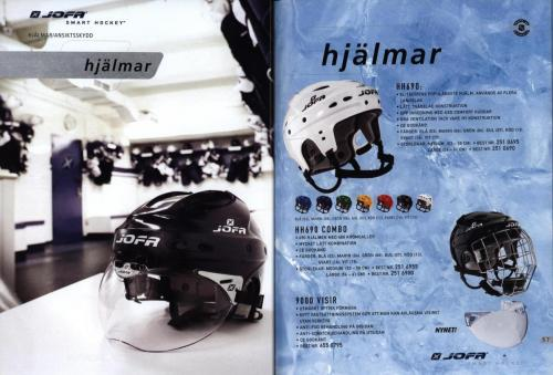 Jofa ccm hockeyutrustning 2003 Blad29