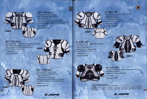 Jofa ccm hockeyutrustning 2003 Blad32