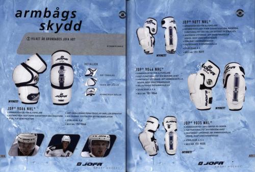 Jofa ccm hockeyutrustning 2003 Blad33