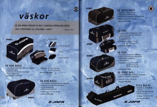Jofa ccm hockeyutrustning 2003 Blad37