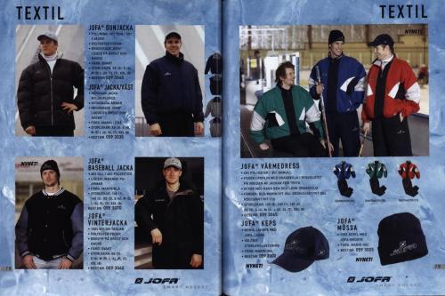 Jofa ccm hockeyutrustning 2003 Blad40