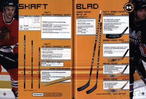 Jofa ccm hockeyutrustning 2003 Blad44