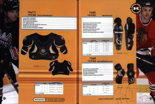 Jofa ccm hockeyutrustning 2003 Blad48