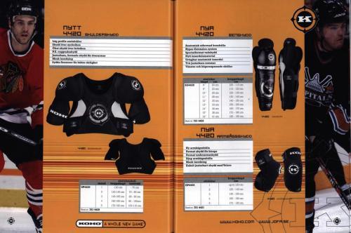 Jofa ccm hockeyutrustning 2003 Blad49