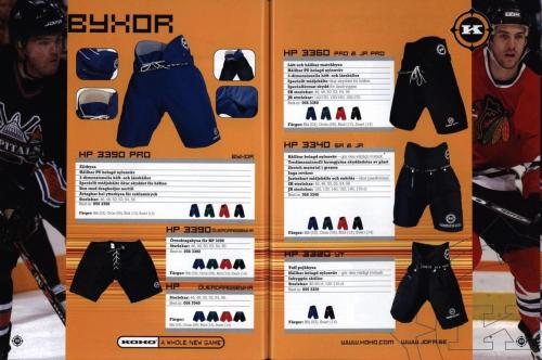 Jofa ccm hockeyutrustning 2003 Blad50