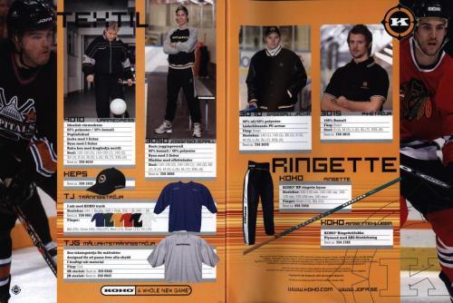 Jofa ccm hockeyutrustning 2003 Blad52