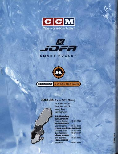 Jofa ccm hockeyutrustning 2003 Blad53