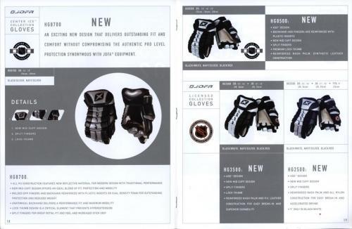 Jofa equipment guide 2002 Blad10