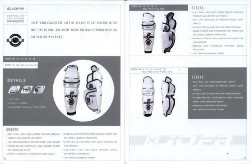 Jofa equipment guide 2002 Blad14