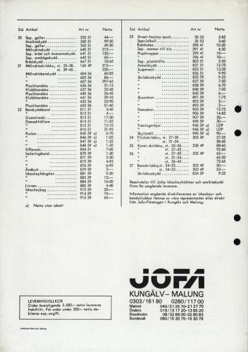Jofa issport nettoprislista 76-77 Blad02