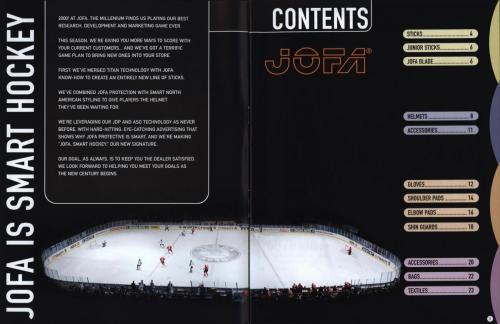 Jofa smart hockey equipment 2000 Blad02
