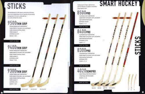 Jofa smart hockey equipment 2000 Blad03