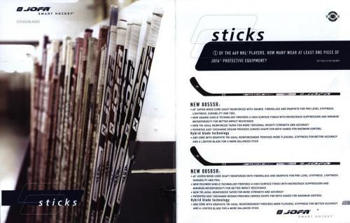 Jofa smart hockey equipment guide 2003 Blad03