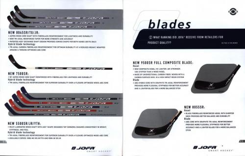 Jofa smart hockey equipment guide 2003 Blad04