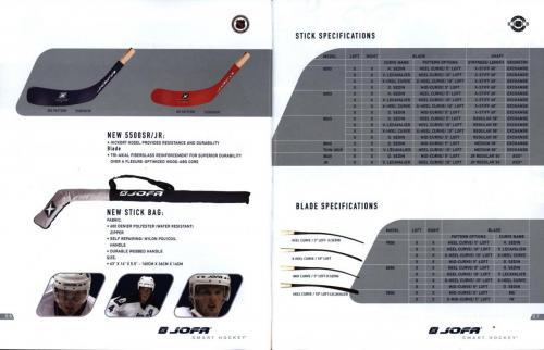 Jofa smart hockey equipment guide 2003 Blad05