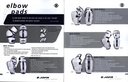 Jofa smart hockey equipment guide 2003 Blad08