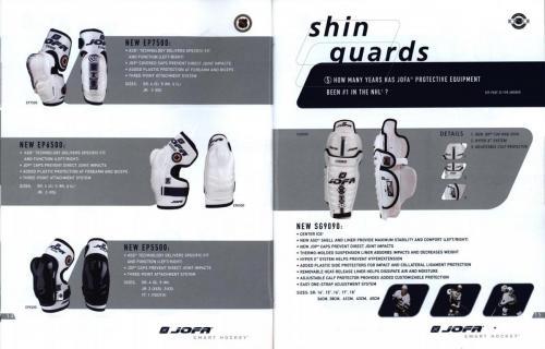Jofa smart hockey equipment guide 2003 Blad09