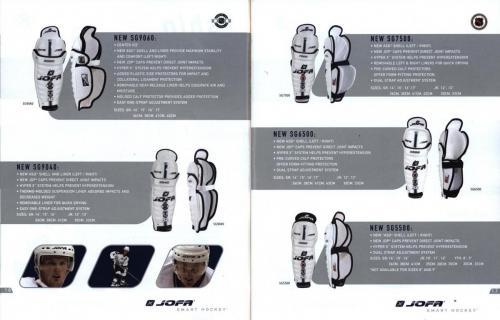 Jofa smart hockey equipment guide 2003 Blad10