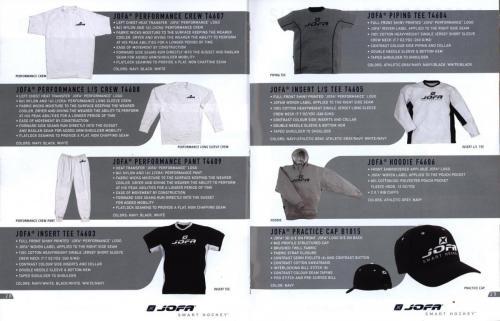 Jofa smart hockey equipment guide 2003 Blad16