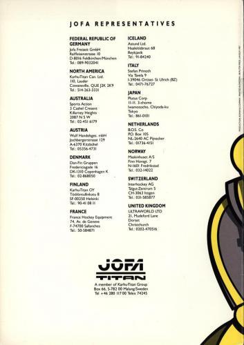 Jofa titan issport 1987 Blad15