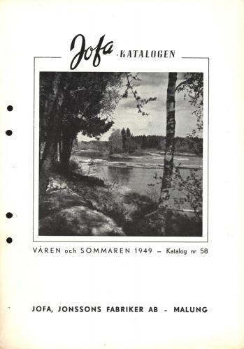Jofa vår och sommar 1949 Bild 01