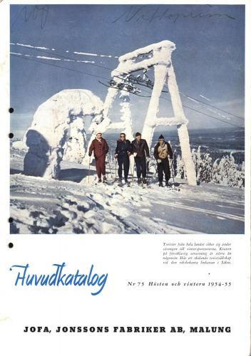 Jofakatalog 1954-55 Blad 01