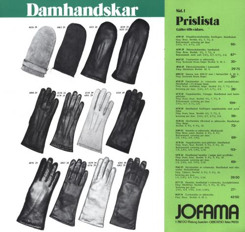 Jofama Promenadhandskar 02