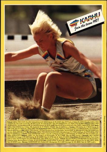 Karhu join the team 1987 Blad19