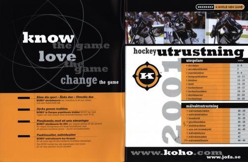 Koho hockeyutrustning 2001 Blad02