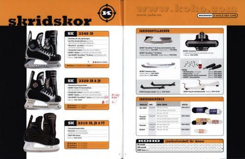 Koho hockeyutrustning 2001 Blad05