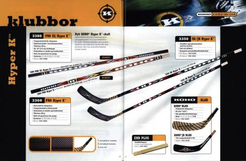 Koho hockeyutrustning 2001 Blad07
